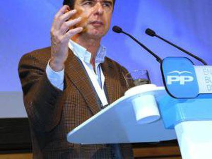 El ministro de Industria, Energía y Turismo, y presidente del Partido Popular de Canarias, José Manuel Soria.