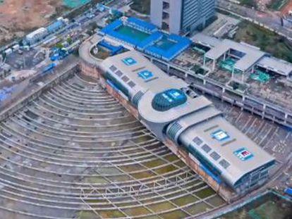 El edificio fue trasladado para construir una terminal de trenes en su lugar