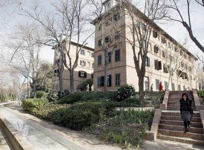 Residencia de Estudiantes de Madrid, donde se instaló el joven Dalí en 1923.