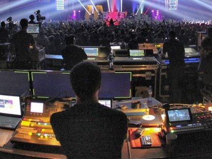 Un concierto del Sónar Club en una anterior edición.