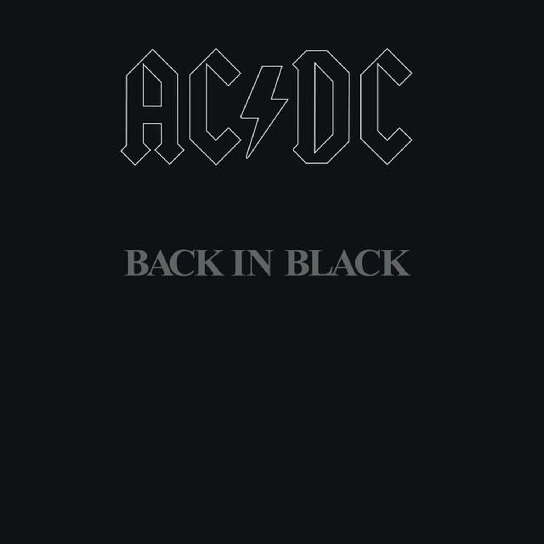 Portada del disco 'Back In Black'.