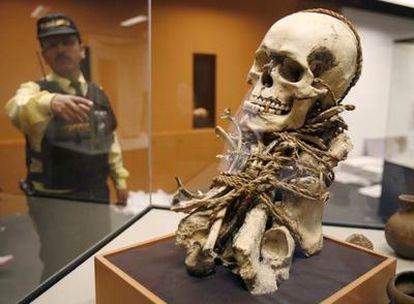 La ciudad peruana de Lima acoge la exposición <i>Momias de Leymebamba</i> que abrirá sus puertas el próximo jueves en el Museo de la Nación. La muestra reúne 93 piezas del Museo de Leymebamba entre las que destacan doce momias que se encuentran en un excelente estado de conservación.