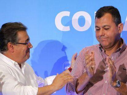 José Luis Sanz, nuevo número dos del PP de Andalucía