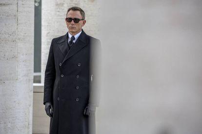 Daniel Craig como James Bond en un fotograma de 'Spectre'.