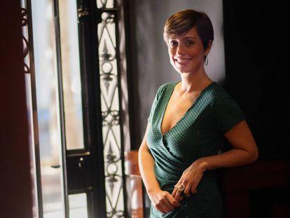 Marta Carnicero, en Barcelona en octubre pasado.