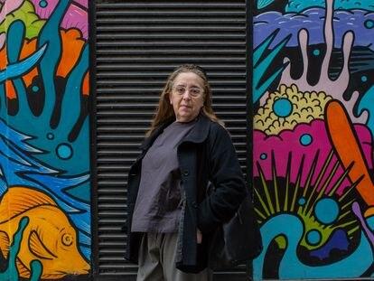 Manuela Mena, en las inmediaciones de Carnaby Street, en Londres, la semana pasada.