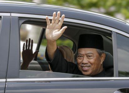 El nuevo primer ministro malasio, Muyhuddin Yassin,  EFE/EPA/AHMAD YUSNI