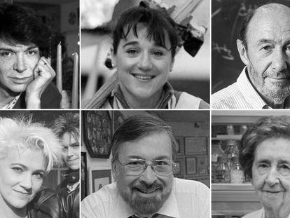 Rubalcaba, Margarita Salas y otros personajes que nos dejaron en 2019