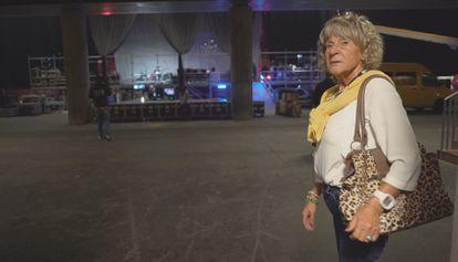 Pilar, la madre de Evaristo Páramos, en un momento del documental.