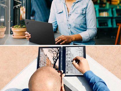 Ofertas de 'Black Friday' en portátiles Lenovo.