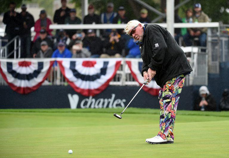 John Daly, este viernes en el torneo Sanford Invitational.