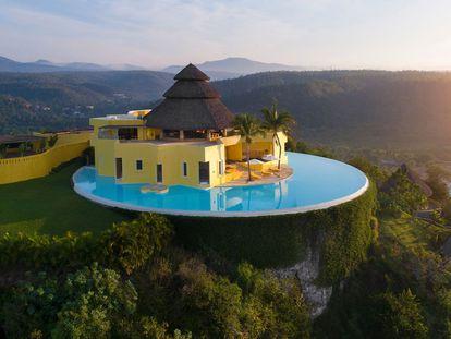 La mansión Sol de Oriente en Costa Careyes, México.