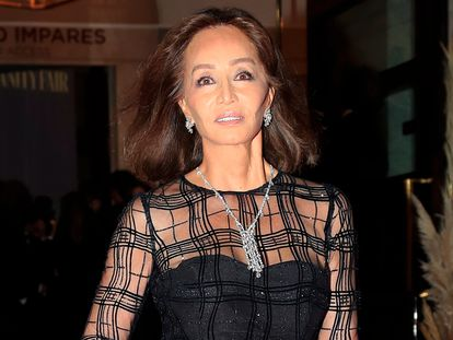 Isabel Preysler a su llegada a un evento en Madrid a finales de 2019.