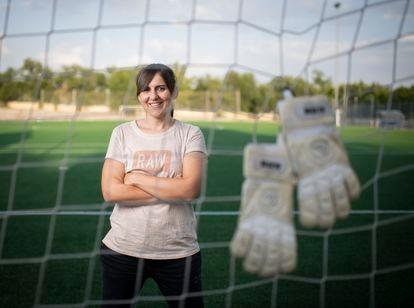 Alicia Gómez, portera del Rayo Vallecano, se retira tras 15 años en el club