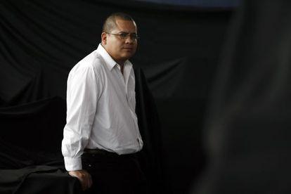 Julián Herbert, en una imagen tomada en 2012.