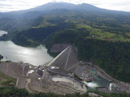 La planta hidroeléctrica Reventazón, en Costa Rica.
