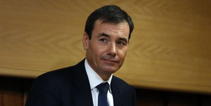 Tomás Gómez, en la Asamblea de Madrid el 16 de diciembre.