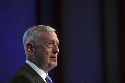 El jefe del Pentágono, Jim Mattis, este sábado en el Diálogo Shangri-La en Singapur