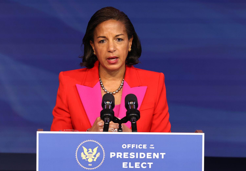 Susan Rice nominada como Directora del Consejo de Política Interior.