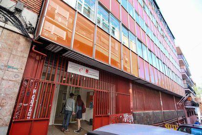 Edificio del Conservatorio Teresa de Berganza en el distrito de Latina.