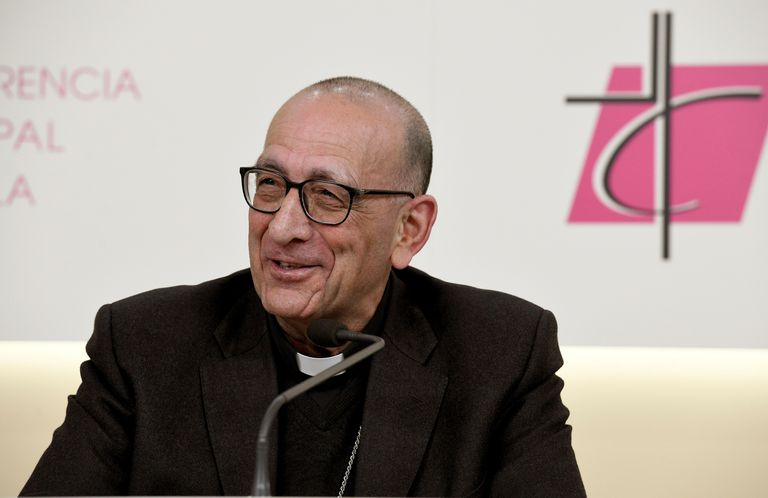El nuevo presidente de la Conferencia Episcopal Española, Juan José Omella, este martes.