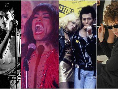 'Control', 'Tina', 'Sid y Nancy' o 'I'm Not There' son algunas de las biografías músicales que superan en calidad a la cinta sobre Queen protagonizada por Rami Malek.