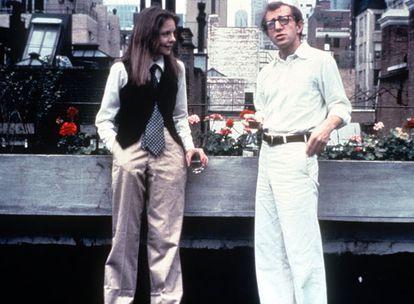 Diane Keaton y Woody Allen, en una escena de la película 'Annie Hall'.