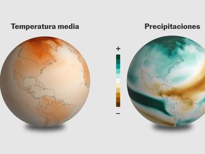 Un atlas interactivo para mostrar cómo sería el planeta con un calentamiento de 4 grados