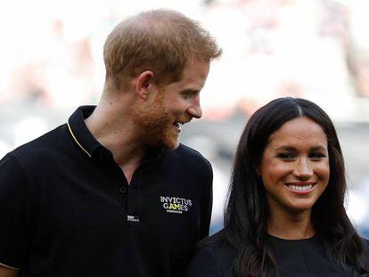 El principe Enrique y Meghan Markle, en Londres el pasado junio.