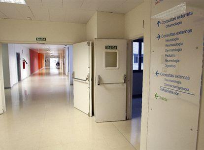 Hospital Infanta Sofía en San Sebastián de los Reyes, uno de los centros criticados en el informe de la Inspección de Trabajo.