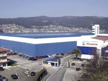 Sede central de Pescanova en Chapela, en Redondela (Pontevedra)