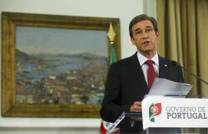 El primer ministro portugués, Pedro Passos Coelho. EFE/Archivo