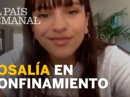 """Rosalía: """"El aislamiento a veces es positivo para el proceso creativo"""""""