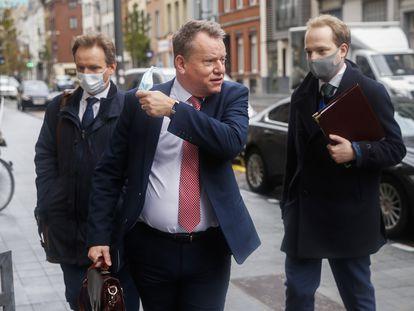 El negociador jefe británico del Brexit, David Frost, el 16 de noviembre en Bruselas.