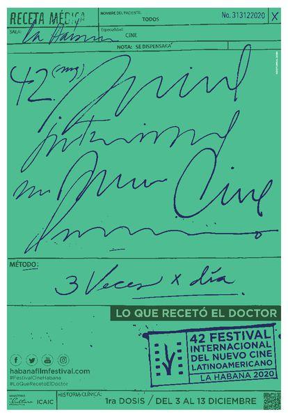 Cartel del Festival de Cine de La Habana de 2021.