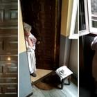 Fotogramas del vídeo del cumpleaños de Charo, en uno de los edificios afectados por la venta de pisos de Fusara.