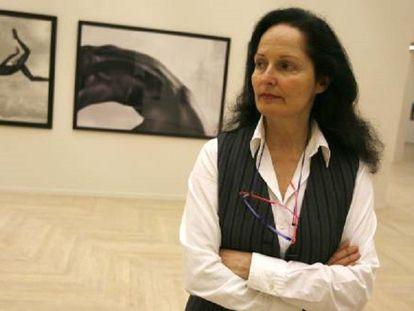 Isabel Muñoz, en el Kursaal de San Sebastián, en 2007.