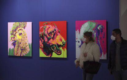'Zodiac', una serie de obras del artista chino Ai Weiwei.
