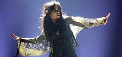 Loreen, en Eurovisión, en 2012.