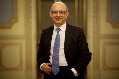 Cristobal Montoro, ministro de Hacienda y Administraciones Publicas
