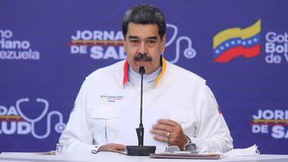 Nicolás Maduro, el 11 de mayo en Caracas.