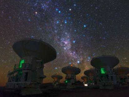 Dos grandes fuerzas gobiernan el movimiento de la Vía Láctea por el universo