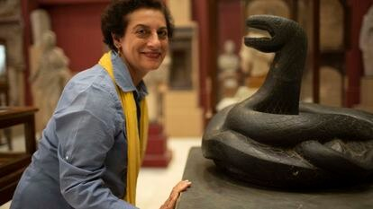 Picture shows_Professor Salima Ikram at The Egyptian Museum Cairo, Egypt