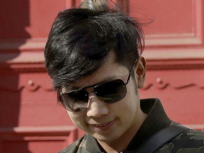 Vorayuth  Yoovidhya, en Londres en 2017.
