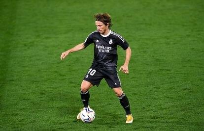 Modric, el pasado sábado ante el Villarreal.