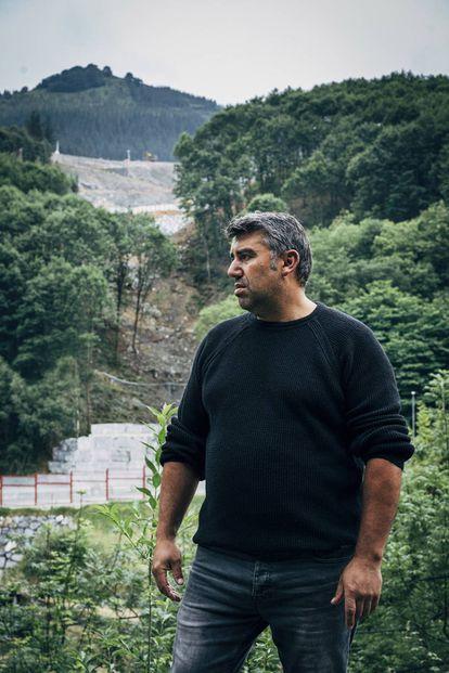 Txisko Beltrán, hermano de Joaquín Beltrán, uno de los dos desaparecidos en la tragedia de Zaldibar.