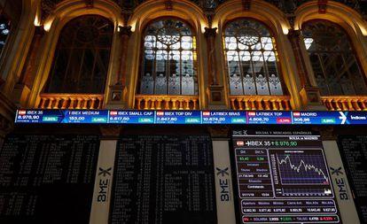 Imagen de la Bolsa de Madrid.
