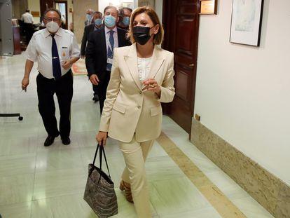 La ex secretaria general del PP, María Dolores de Cospedal, el pasado 2 de junio.
