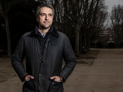 Carlos Franganillo, en Madrid esta semana.