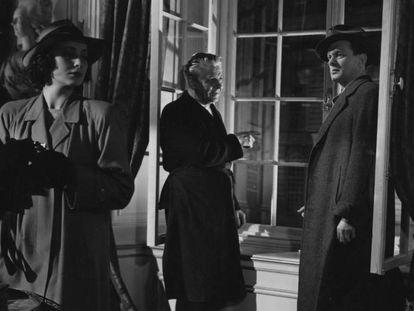 Fotograma de la película 'El tercer hombre' de Carol Reed.